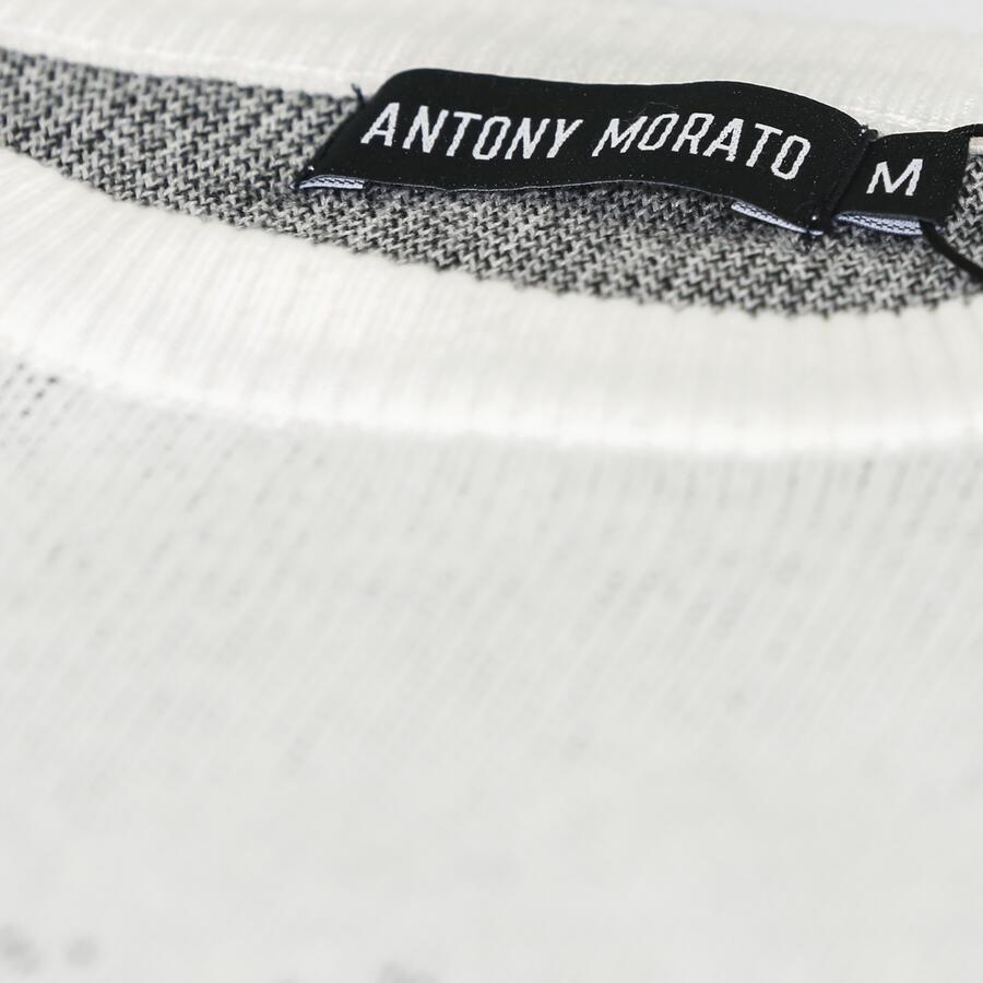 MAGLIA ANTONY MORATO REGULAR FIT IN MORBIDO FILATO DI COTONE JAQUARD