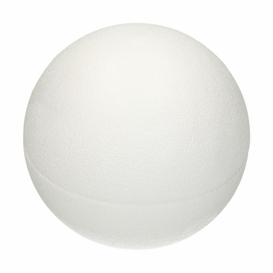 Coppia mezza sfera polistirolo cm 15