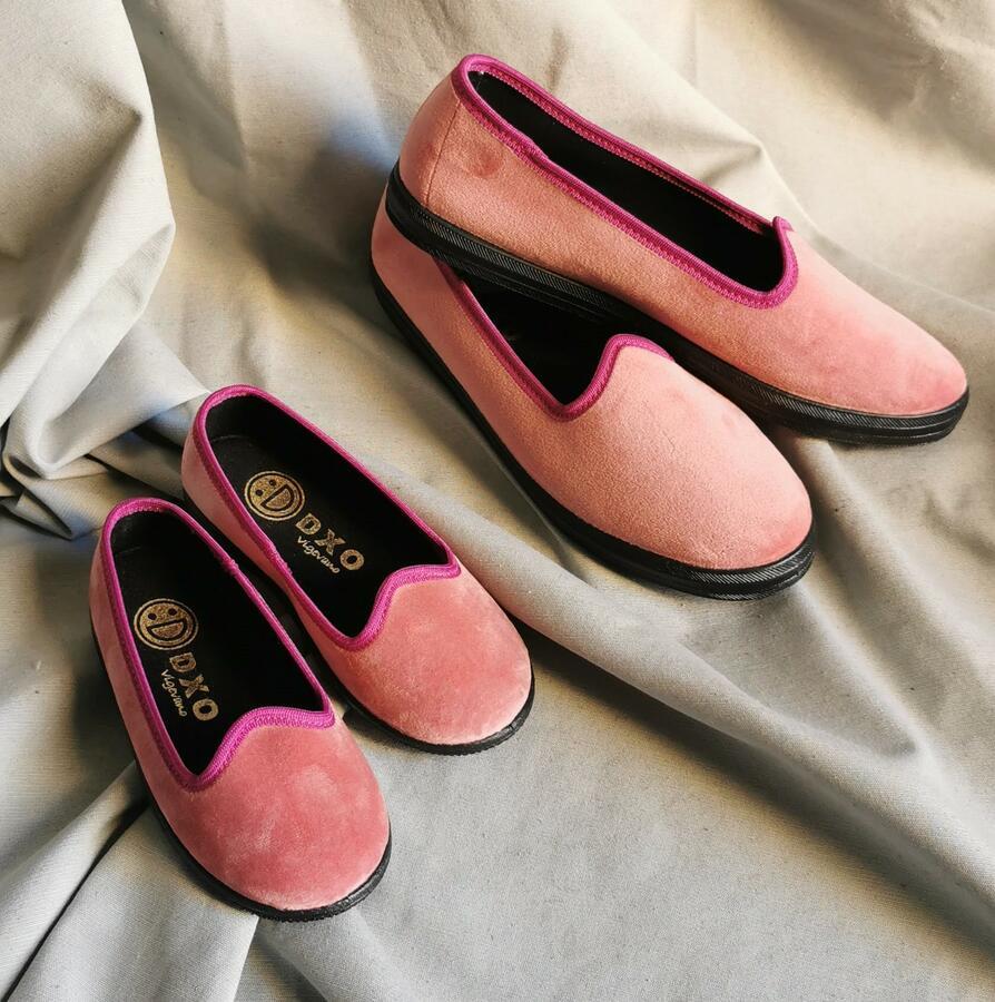 Pantofola modello Friulana Rosa