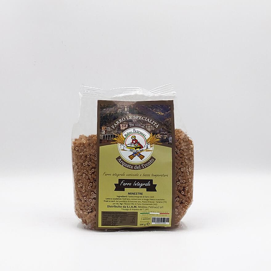 Pasta al farro integrale - Minestre