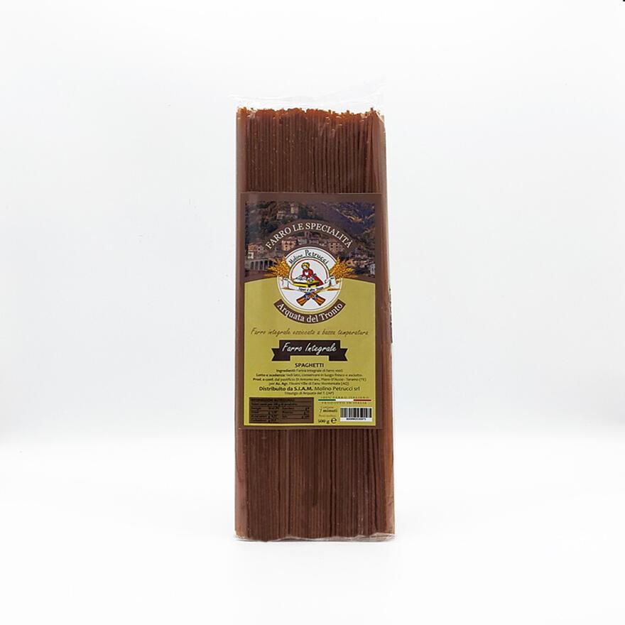 Pasta al farro integrale - Spaghetti