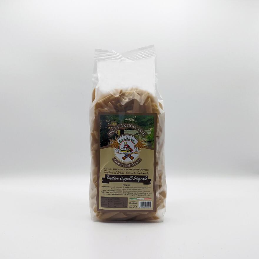 Pasta artigianale integrale Senatore Cappelli - Penne