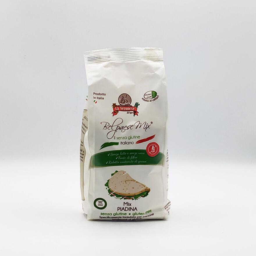 Farina per piadina senza glutine