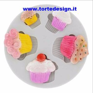 stampo silicone cup cakes (mould)