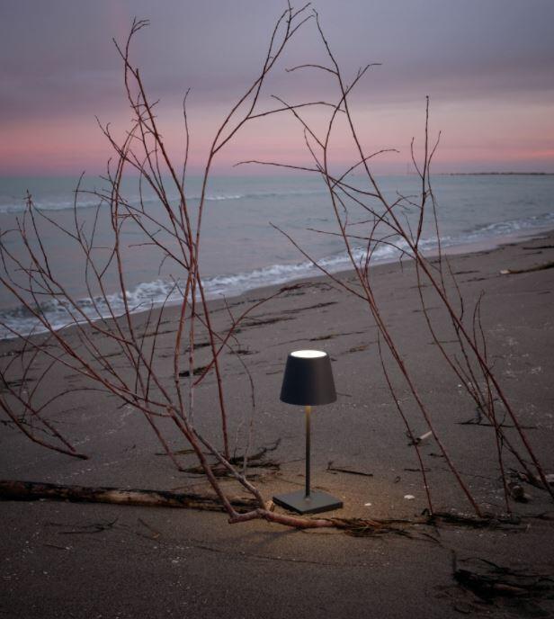 Lampada Ricaricabile da Tavolo POLDINA PRO Colore Salvia di Zafferano in Pronta Consegna - Offerta di Mondo Luce 24
