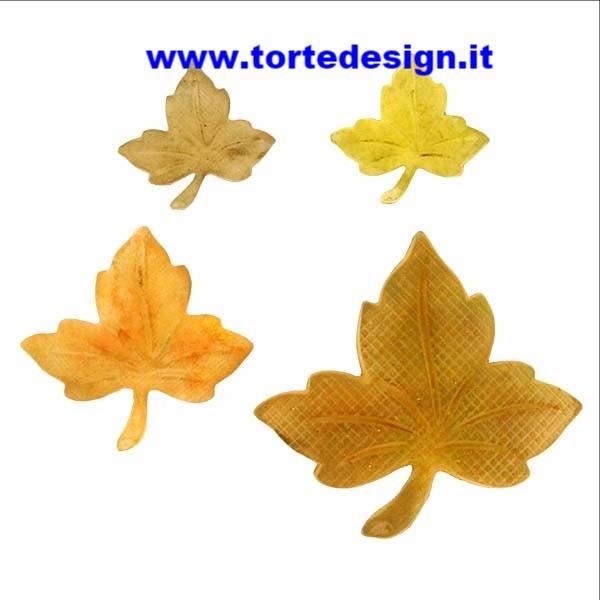stampo silicone foglie edera
