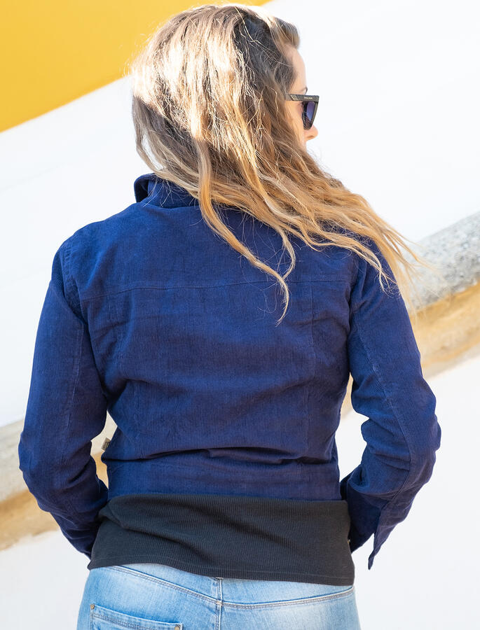 Giacca corta donna Jeevika - Blu