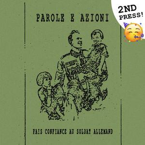 Parole e azioni - Fais confiance au soldat allemand (2nd press)