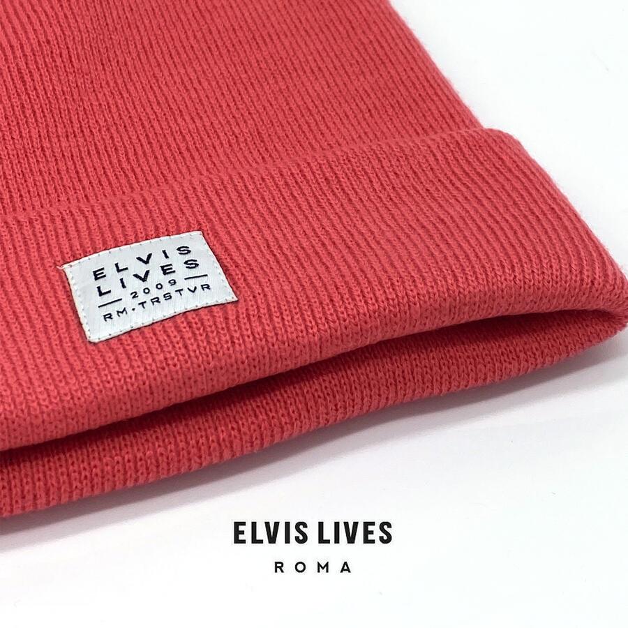 Elvis Lives Beanie - Coral