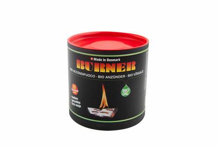 Accendifuoco Burner Bio Confezione da 50 - 100 pz