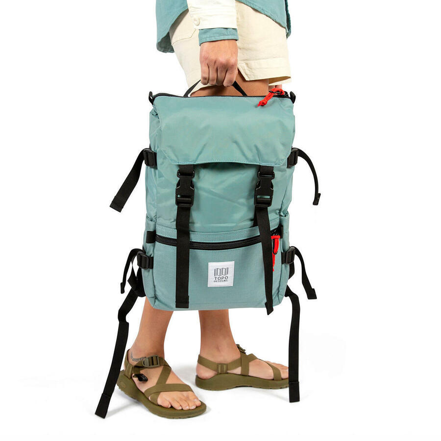 Topo Design Rover Pack Canvas - Forest