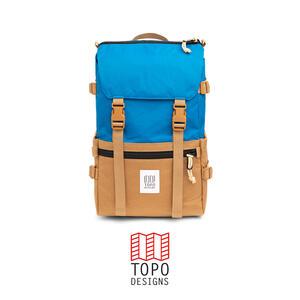 Topo Design Rover Pack - Blue/Khaki
