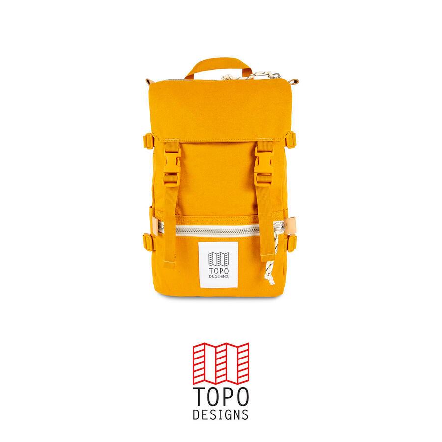 Topo Design Rover Pack Mini Canvas - Mustard