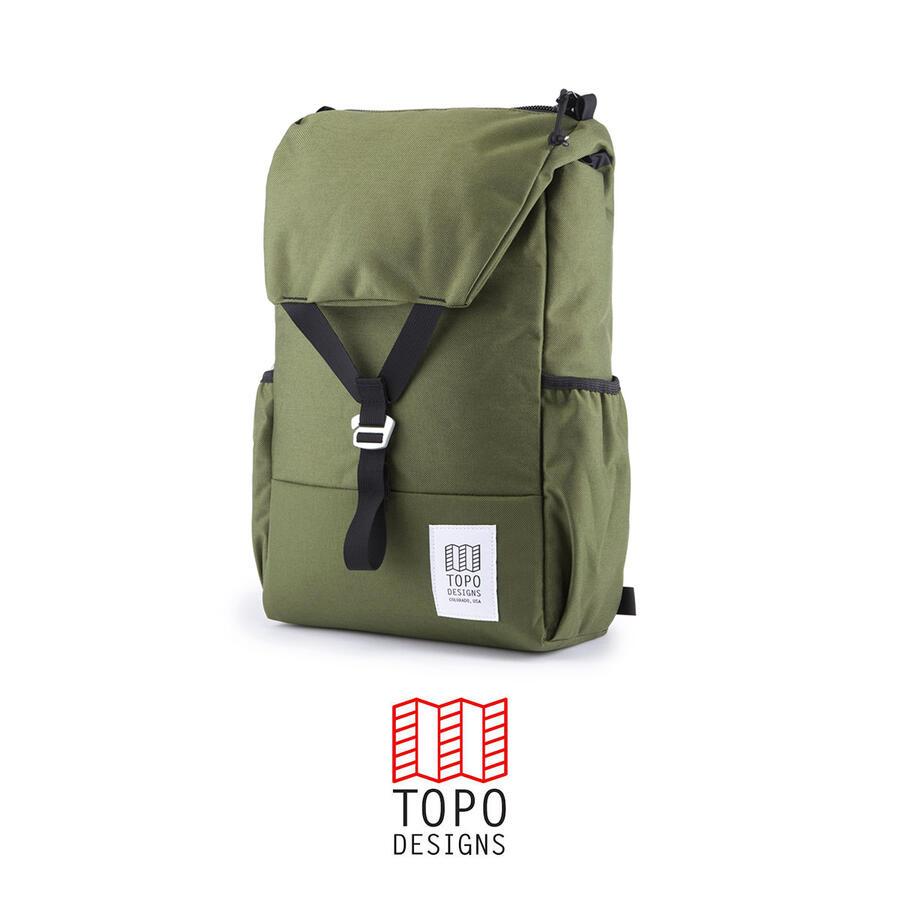 Topo Design Y Pack - Olive