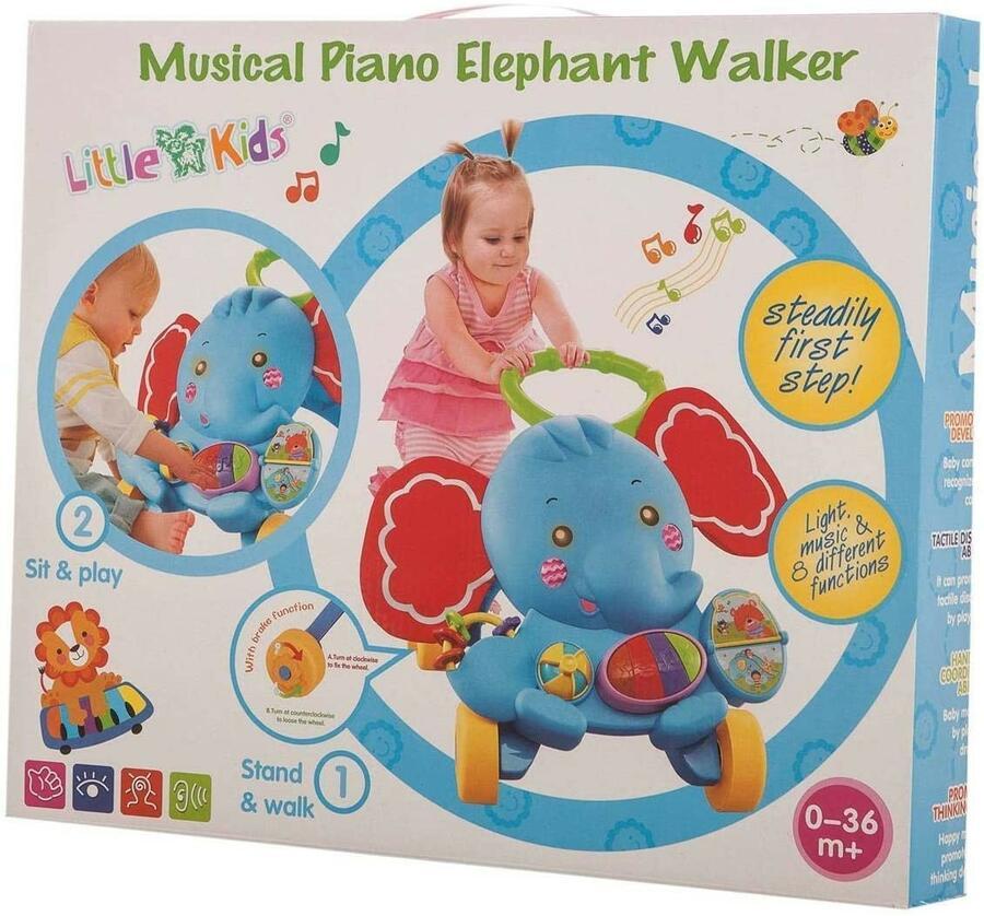 Girello Activity Musical Luminoso - Little Kids 25538 - 0+