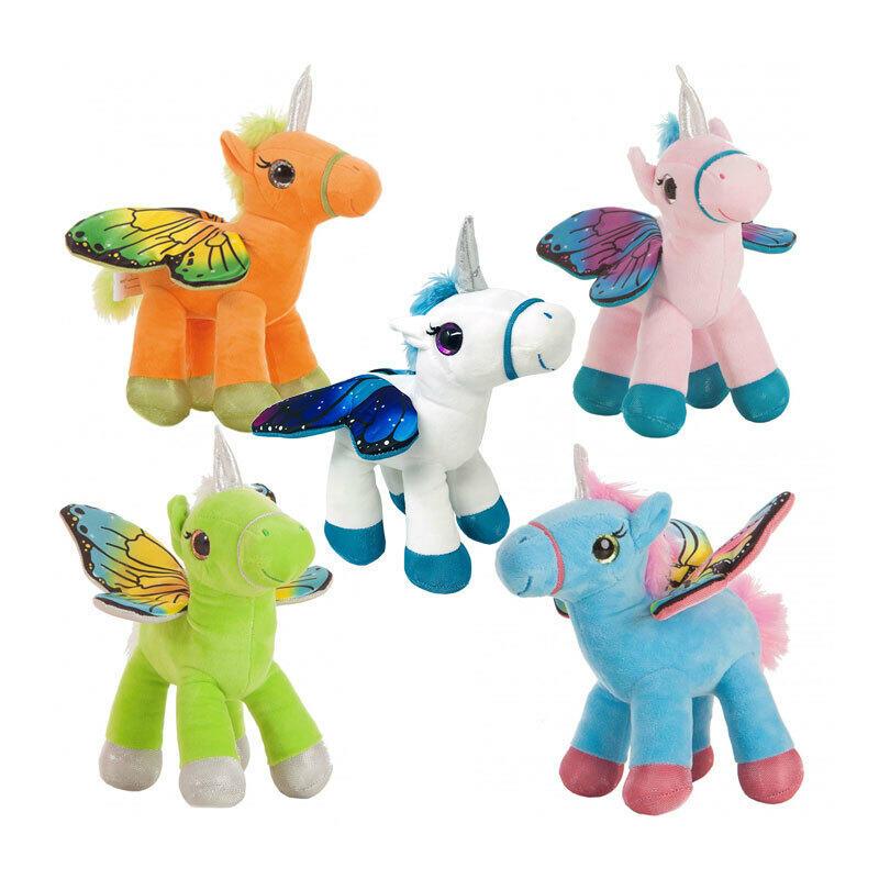 Peluche Unicorno 32 cm assortito - Creaciones Llopis 46771