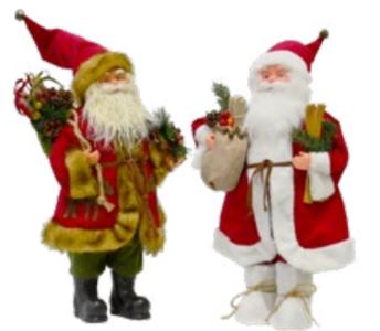 Babbo Natale Decorato h50 cm GIOCOPLAST