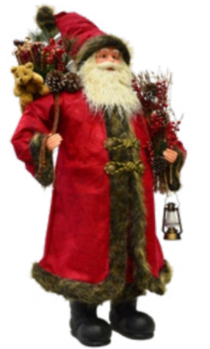 Babbo Natale Decorato h100 cm GIOCOPLAST