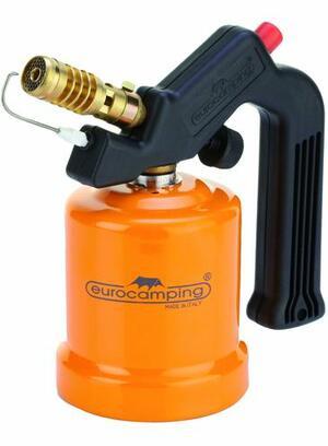 Saldatore a Gas con Accensione Piezo Eurocamping