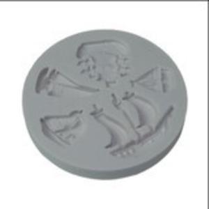 stampo silicone pirati e barche (mould)