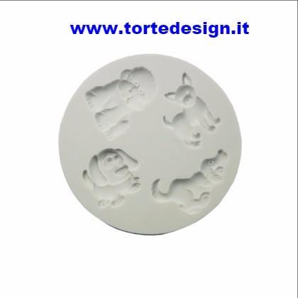 stampo silicone cagnolini (mould)