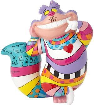 Disney Britto Cheshire Cat Mini Window Box Figurine, 4059583