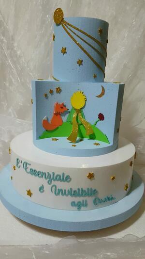 torta scenografica il piccolo principe