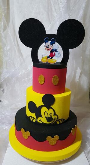 torta scenografica topolino arco