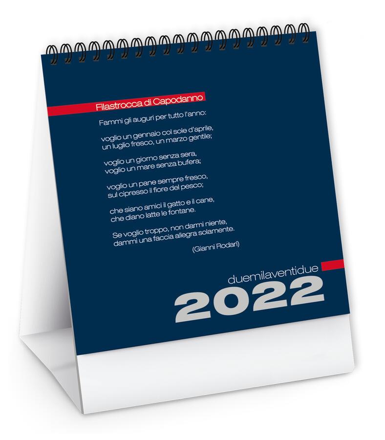"""Calendario Tavolo """"Alto"""" Personalizzato PA745"""