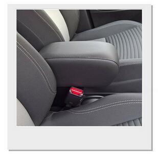 Bracciolo regolabile con portaoggetti per Toyota Yaris - Hybrid (2015-2020)