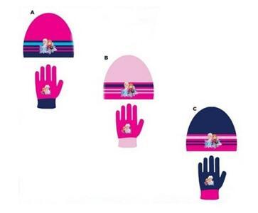 Frozen 2 - set 2 pz - cappello, guanti