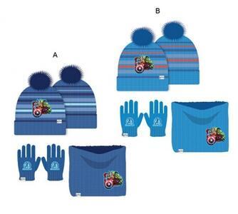 Avengers - set 3 pz cappello-scaldacollo-guanti