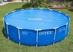 Telo copertura solare termico riscalda piscina rotonda frame 457 cm Intex 29023