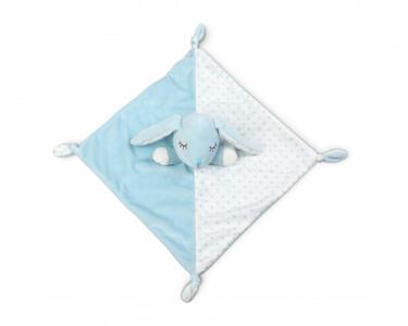 Doudou Deluxe Coniglietto 30 cm - Blu