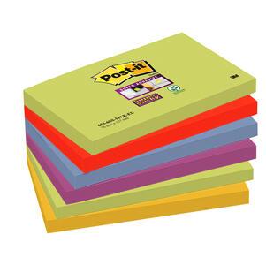 BLOCCO 90 foglietti Post-it Super Sticky 76x127mm 655-6SS-MAR-EU MARRAKESH