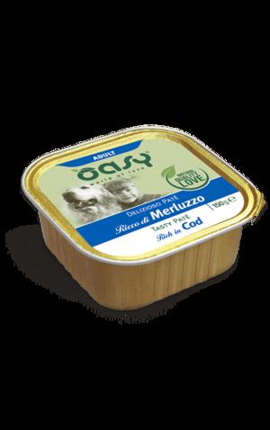 Cane -  Patè di Merluzzo 150 gr Oasy