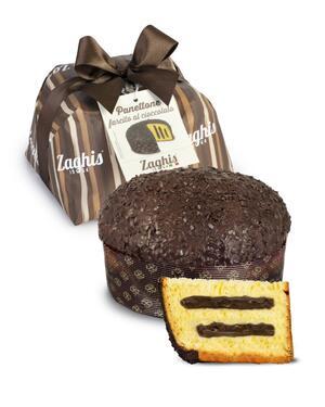 Panettone Farcito Con Cioccolsto 800 gr ZAGHIS