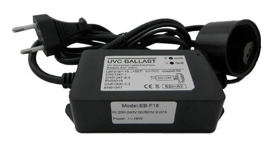 Accenditore-Ballast 11 / 16Watt 4 pin