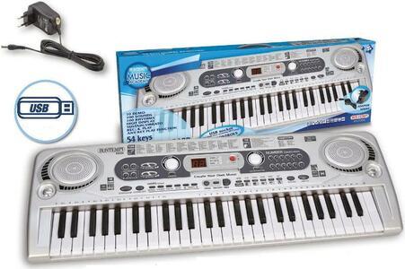 Tastiera 54 tasti con display LCD