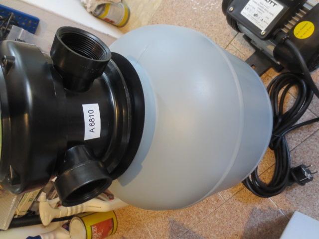sistema per filtrazione piscina pompa a sabbia per piscina
