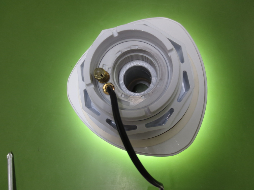 Illuminazione a led per bocchetta piscine fuori terra newplast