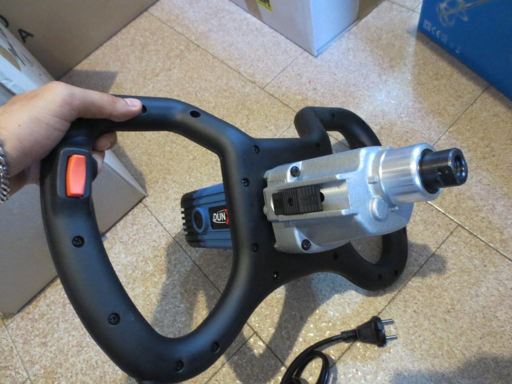 Miscelatore ad elica semiprofessionale MS 1600 YAMATO 94532 2 velocità 1600w