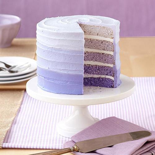 Set 5 teglie per torta arcobaleno