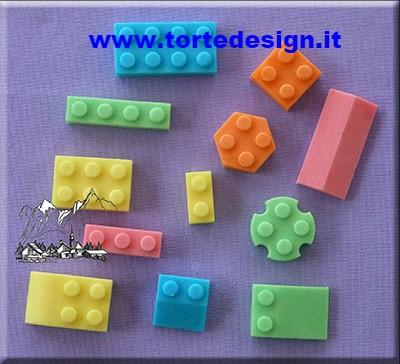 stampo silicone lego (mould)