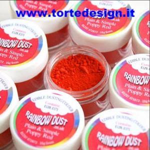 colorante in polvere rainbow dust rosso natale