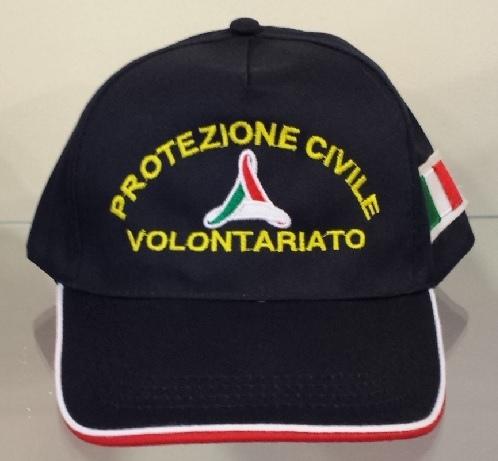 Cappellino baseball Protezione Civile Volontariato Italia