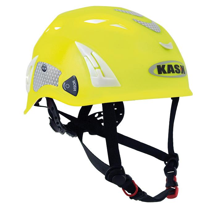 Casco di sicurezza Kask giallo fluo