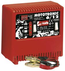 Caricabatteria Telwin Carica batterie Mototronic 6/12 230V per moto e scooter Telwin