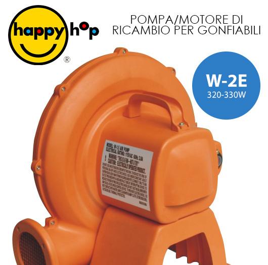 POMPA MOTORE DI RICAMBIO PER CASTELLO GIOSTRA GONFIABILE W-2E 320-330W HAPPY HOP