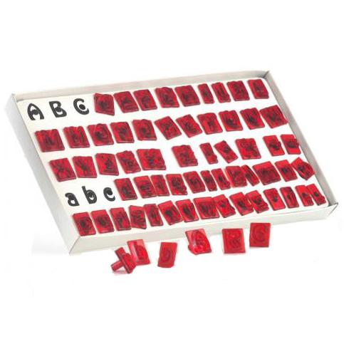 Set alfabeto, 64 pezzi Jem